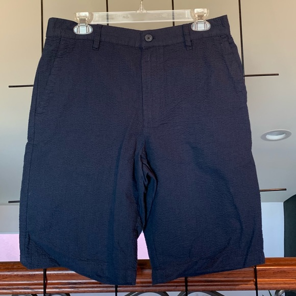 Five Four Other - Navy blue men's Five Four shorts